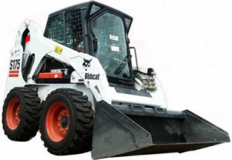 Bobcat para Locação Porto Feliz - Locação de Mini Escavadeira Bobcat