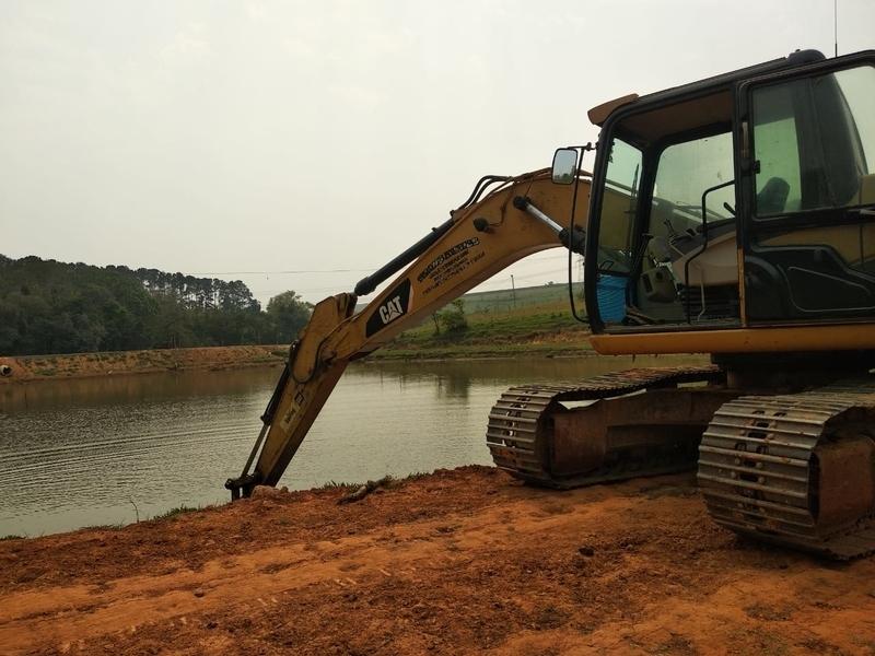 Locação de Escavadeira para Construção Tatuí - Locação de Escavadeira Hidráulica