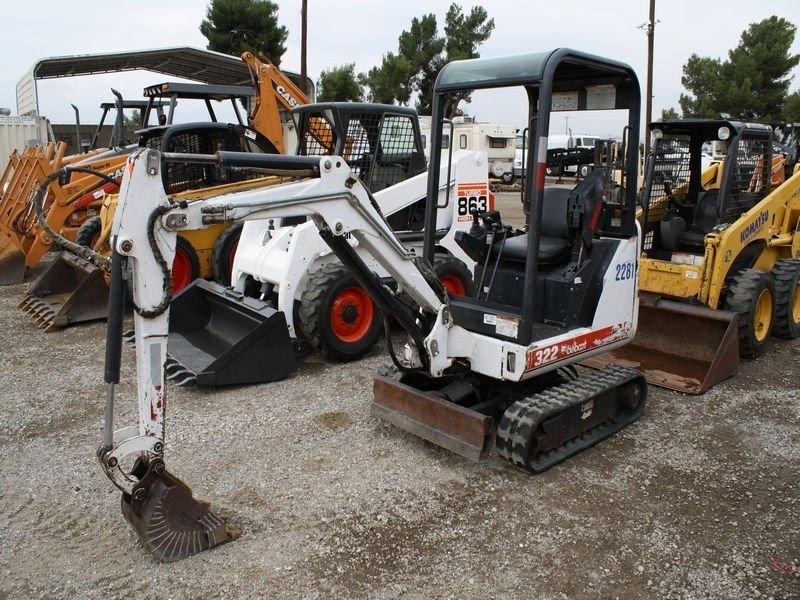 Locação de Maquina Bobcat em Itapetininga - Locação de Mini Escavadeira Bobcat