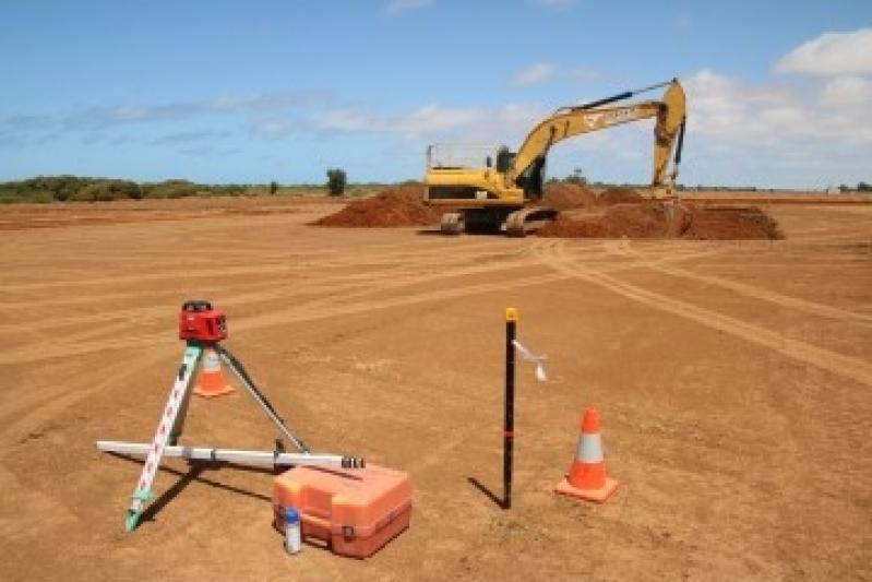 Onde Encontrar Terraplanagem de Terreno Porto Feliz - Projeto de Terraplenagem