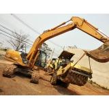 aluguel de escavadeira de para terraplanagem
