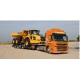 transporte de equipamentos