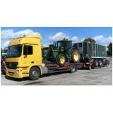 empresa de transporte de maquinaria pesada em Iperó