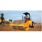 locação de rolo compactador de solo Indaiatuba