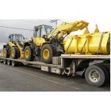 onde encontro empresa de transporte de maquinaria pesada em Itapetininga