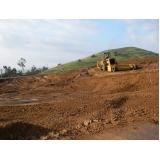orçamento de terraplanagem em Itapetininga