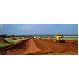 projeto de terraplenagem Boituva