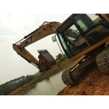 serviço de aluguel de escavadeira de para terraplanagem Sorocaba