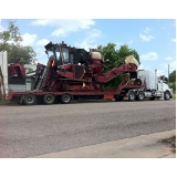 transporte de equipamentos pesados em Iperó