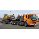 transporte de máquinas em Itapetininga