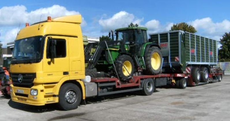Transporte de Equipamentos Porto Feliz - Empresa de Transporte de Maquinaria Pesada