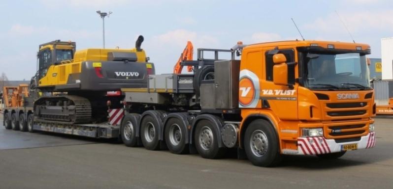 Transporte de Máquinas em Iperó - Empresa de Transporte de Maquinaria Pesada